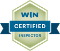 WIN Home Inspection Certified Home Inspector